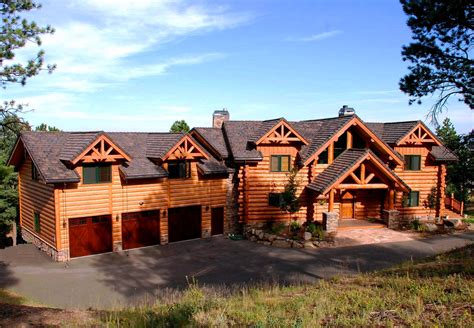 country houses exterior pictures custom handcrafted milled log homes