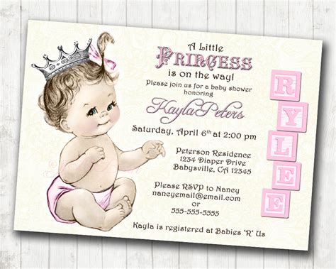 Free Printable Princess Baby Shower Invitations Free Printable Princess Baby Shower Invitations Princess Baby Shower Invitation Templates Free
