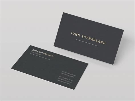 minimalistic business card design 20 minimalistic business card designs for you to see