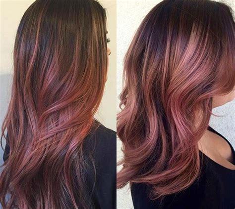 pelo color chocolate el chocolate malva es la nueva tendencia de cabello