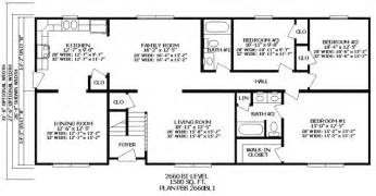 3 Bedroom 2 Bath Ranch Floor Plans by Gallery For Gt House Floor Plans 4 Bedroom 3 Bath