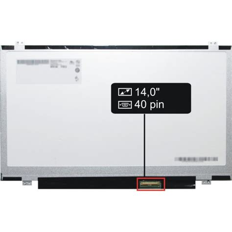 Led Laptop 14 Led 14 0 40pin Slim displej hp compaq chromebook 14 q012ed lcd display hd led