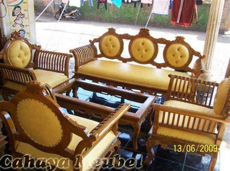 Kursi Kayu Potong Rambut toko kursi tamu sofa kayu jati jepara cahaya mebel jepara