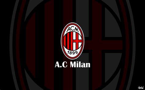 ac milan ac milan logo sport hd wallpaper desktop high definitions wallpapers
