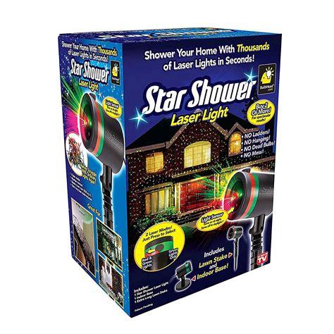 star shower laser light walmart star shower as seen on tv static laser lights star