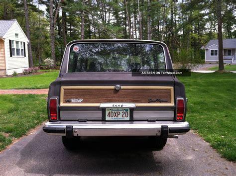 1987 jeep wagoneer 1987 jeep grand wagoneer