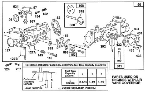 briggs and stratton carb diagram briggs and stratton 080202 2244 01 parts diagram for