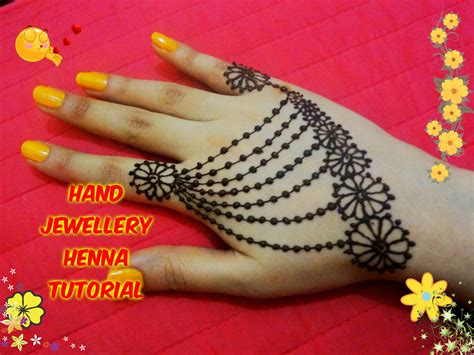 easy diy best and beautiful hand jewellery henna mehndi