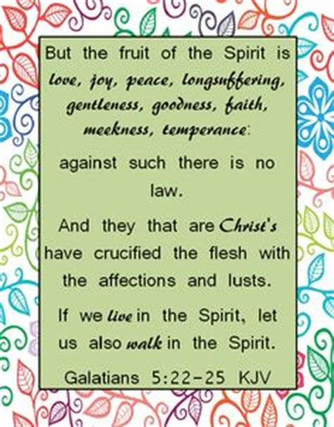 9 fruits of the spirit kjv the future is bright friend magazine bright ideas