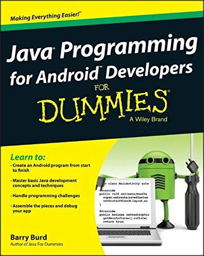tutorial android for dummies pdf java programming for android developers for dummies