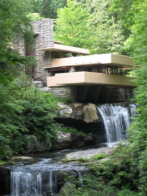 Waterfall House by Interesting Houses And Other Buildings