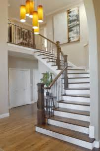 How To Stain Banister Allen Residence Whole Home Design And Remodel