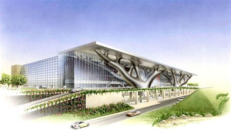 design center qatar convention center security design burns mcdonnell