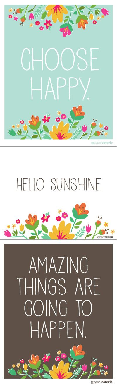 free printable happy quotes free positive printables fab n free