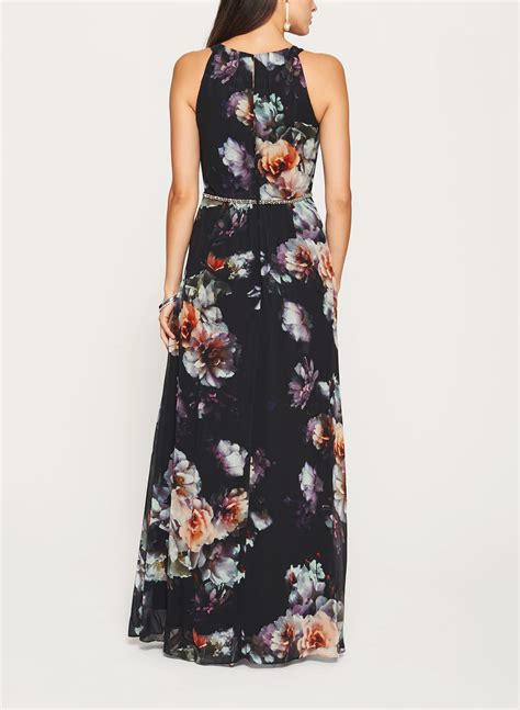 Floral Print Chiffon Dress floral print chiffon dress
