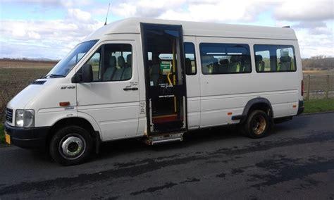 volkswagen minibus electric volkswagen lt 46 2 5 tdi lwb 16 seater minibus with
