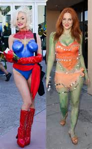 Most revealing and ridiculous comic con body paint outfit e news