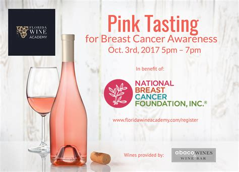 designmantic voucher pink tasting for breast cancer awareness florida wine