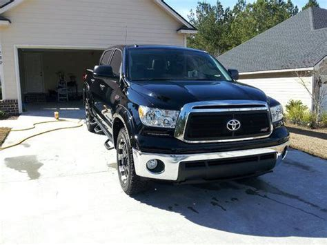 buy used 2012 toyota tundra truck crew max cab 6 speed automatic electronic w overdrive in find used 2012 toyota tundra xsp x crew max pickup 4 door 5 7l i force black in valdosta
