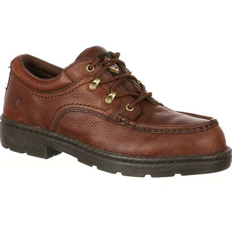 oxford safety shoes lehigh steel toe static dissipative oxford 5194
