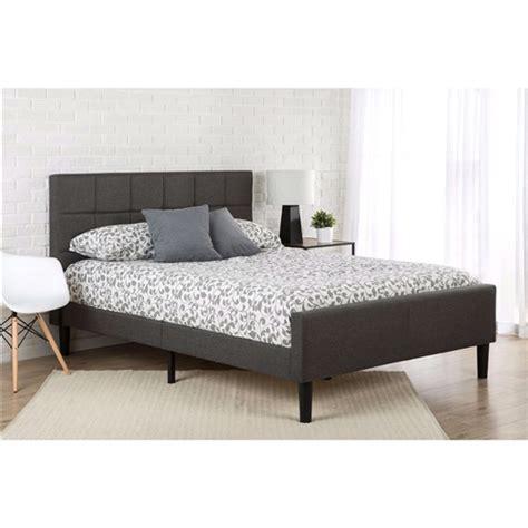 Grey Headboard And Footboard Size Grey Upholstered Platform Bed With Headboard And Footboard Fastfurnishings