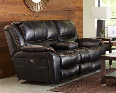 Recliner With Usb Port by Catnapper Beckett Power Reclining Console Loveseat With