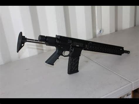mmc ar 15 pdw rifle youtube