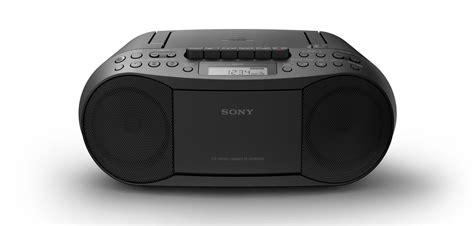 radio cd cassette sony cfd s70 boombox lcd display cd cassette player am