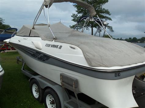 spicer s boat city boat show for sale used 1988 four winns 205 sundowner in houghton