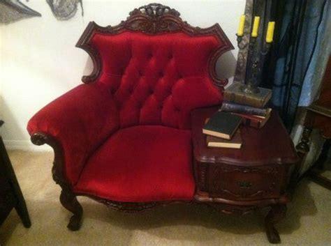 victorian gossip bench antique victorian gossip bench edison telephone chair