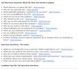 Interview Questions by Typical Group Interview Questions And Answers Interview