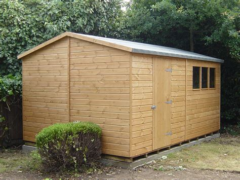 12 X 8 Shed by Bespoke Apex Shed 12 X 8 Surrey Shed Manufacturer
