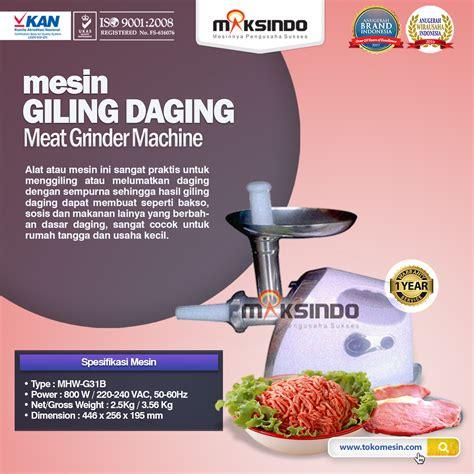 Jual Freezer Mini Di Bandung jual mesin giling daging mini rumah tangga ardin di