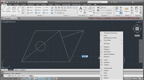 tutorial autocad for beginner autocad tutorial for beginners lesson 1 youtube