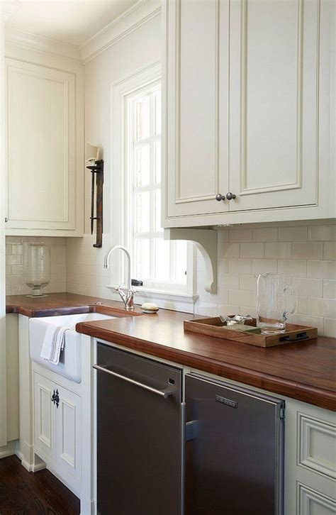 butlers pantry features small farmhouse sink black