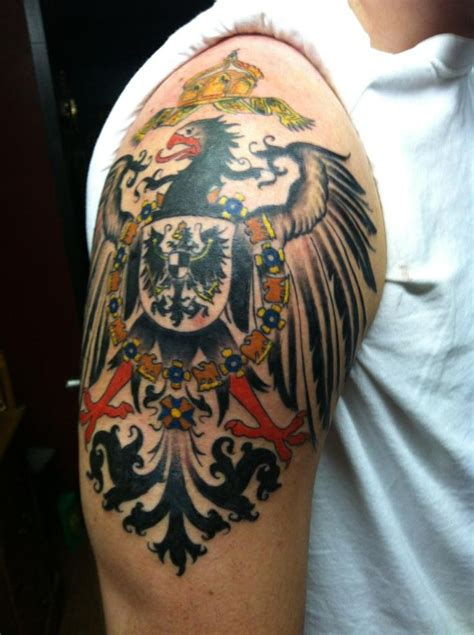 germanic tattoos finished 1890 s german imperial eagle jonathan roach
