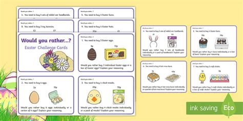 easter card templates twinkl ks1 would you rather easter maths challenge cards ks1