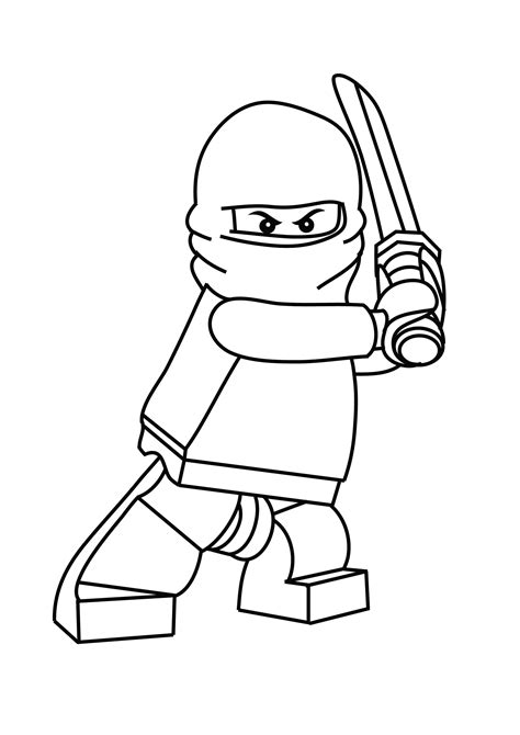 Free Printable Lego Coloring Pages For free coloring pages of ninjago malvorlagen