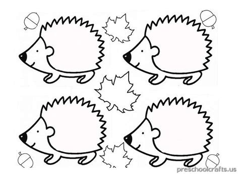 hedgehog coloring pages hedgehog coloring pages for kindergarten preschool crafts