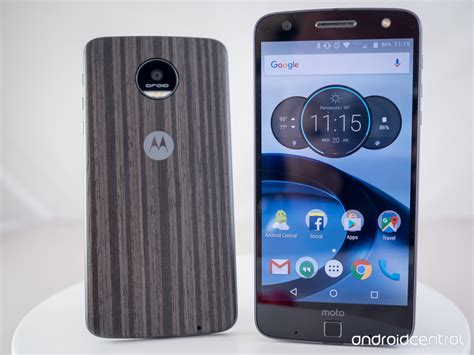 z for android moto z and moto z review android central