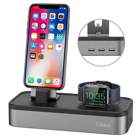 Apple Serie 3 Station by For Apple Stand 3 Port Usb Charger Stand For Apple Series 3 2 1 Iphone X 8 8