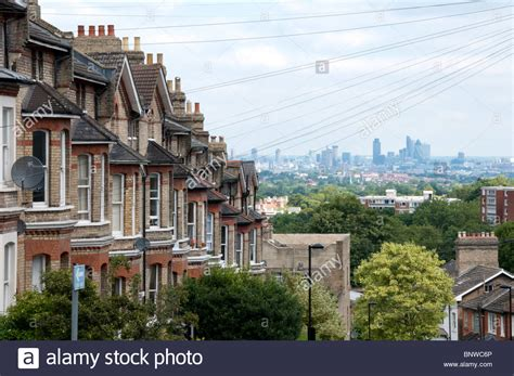 buy house crystal palace the city of london seen from woodland road in crystal palace london stock photo