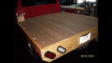diy wood truck bed pdf diy how to build wood truck bed download wooden hinge