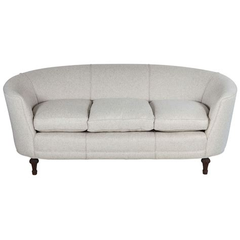 rounded back sofa curved back sofas dunbar curved back sofa by edward