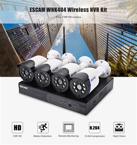 Karet Penahan Pintu Rumah Model Bola Golf escam wireless nvr kit hd 4ch with 4 cctv 720p wnk404 black jakartanotebook