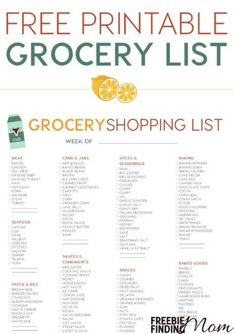 printable grocery list for weight loss 1000 images about templates on pinterest grocery lists