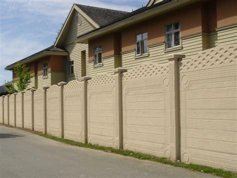 ringhiere da giardino recinzioni in cemento recinzioni