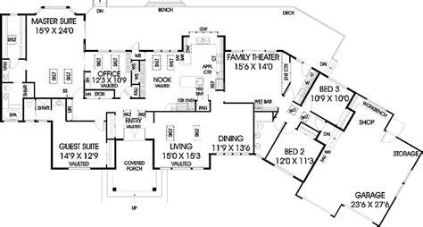 301 Moved Permanently 5 Bedroom Ranch Style Homes Floor Plans