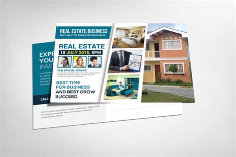 real estate postcards templates free real estate postcard template card templates on creative