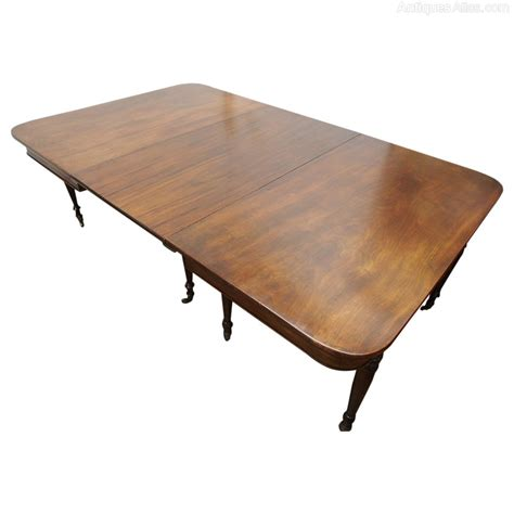 Dining Tables Antique Georgian Mahogany Dining Table With 1 Leaf Antiques Atlas